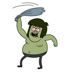 Facebook Messenger Regular Show Sticker 5 Free Download Regular Show Cartoon Cartoon Shows