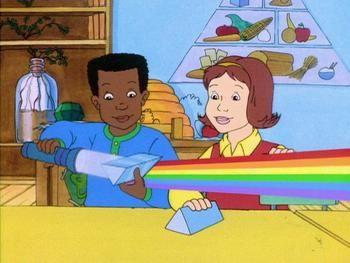The Magic School Bus Makes A Rainbow Magic School Magic School