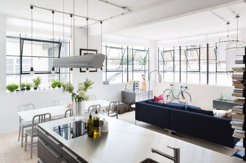 west london loft apartment by nia morrison studio homes houses