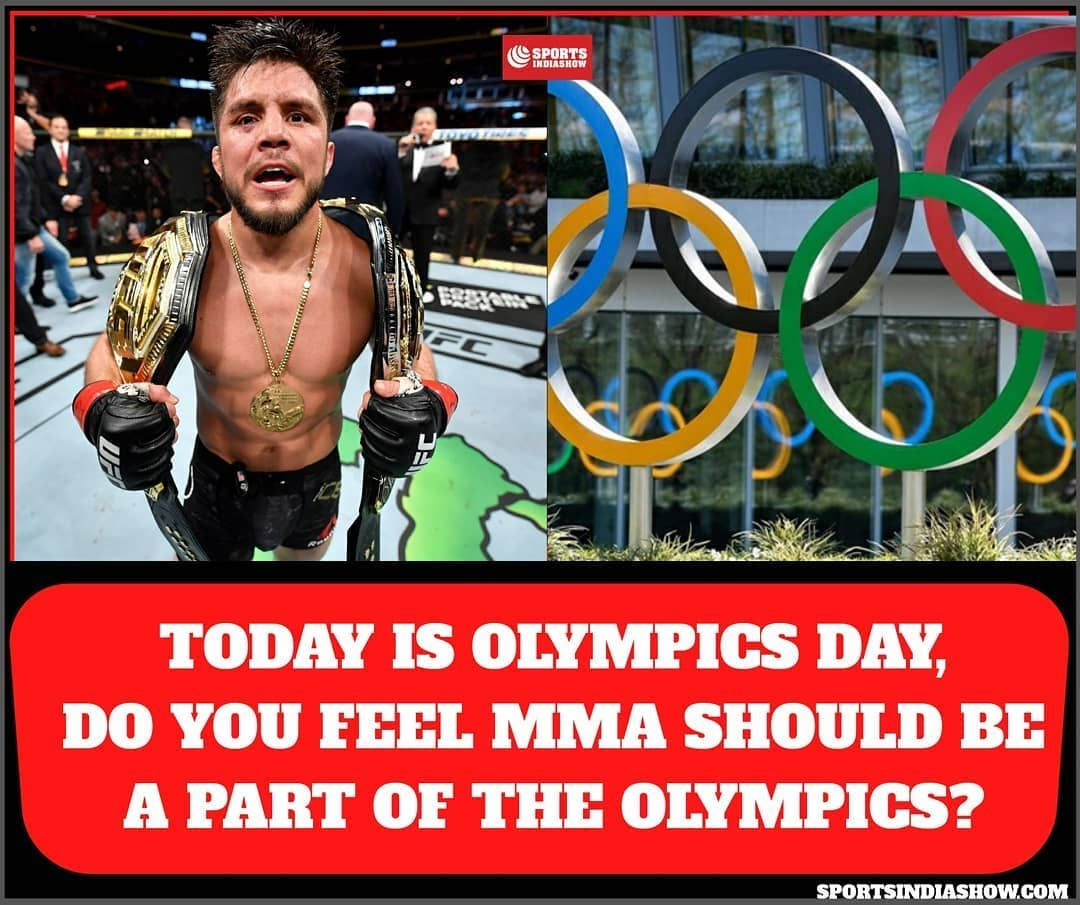 Today is Olympics Day, do you feel MMA should be a part of the Olympics?  Share your thoughts 👇 . . . . . . . . . . . . . . . .  _______  #IndianMMA #mma  #submissions #mixedmartialarts  #grappling #wrestling #india #henrycejudo #knockout #bjj #indianmmanews #mmatraining #indiansports #sportsindia  #mmanews #tuesdaymotivation #tuesdayvibes #martialarts #mmaupdates #mmafighters #sports #sport #combatsports  #olympics #power #game #boxing #kickboxing #ConorMcgregor #KhabibNurmagomedov