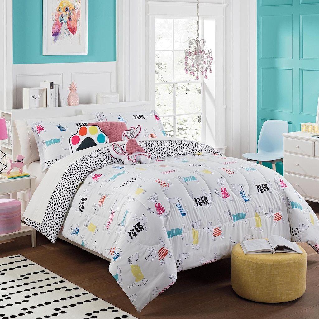 Waverly Kids Adogable Reversible Comforter Set Multicolor In 2019