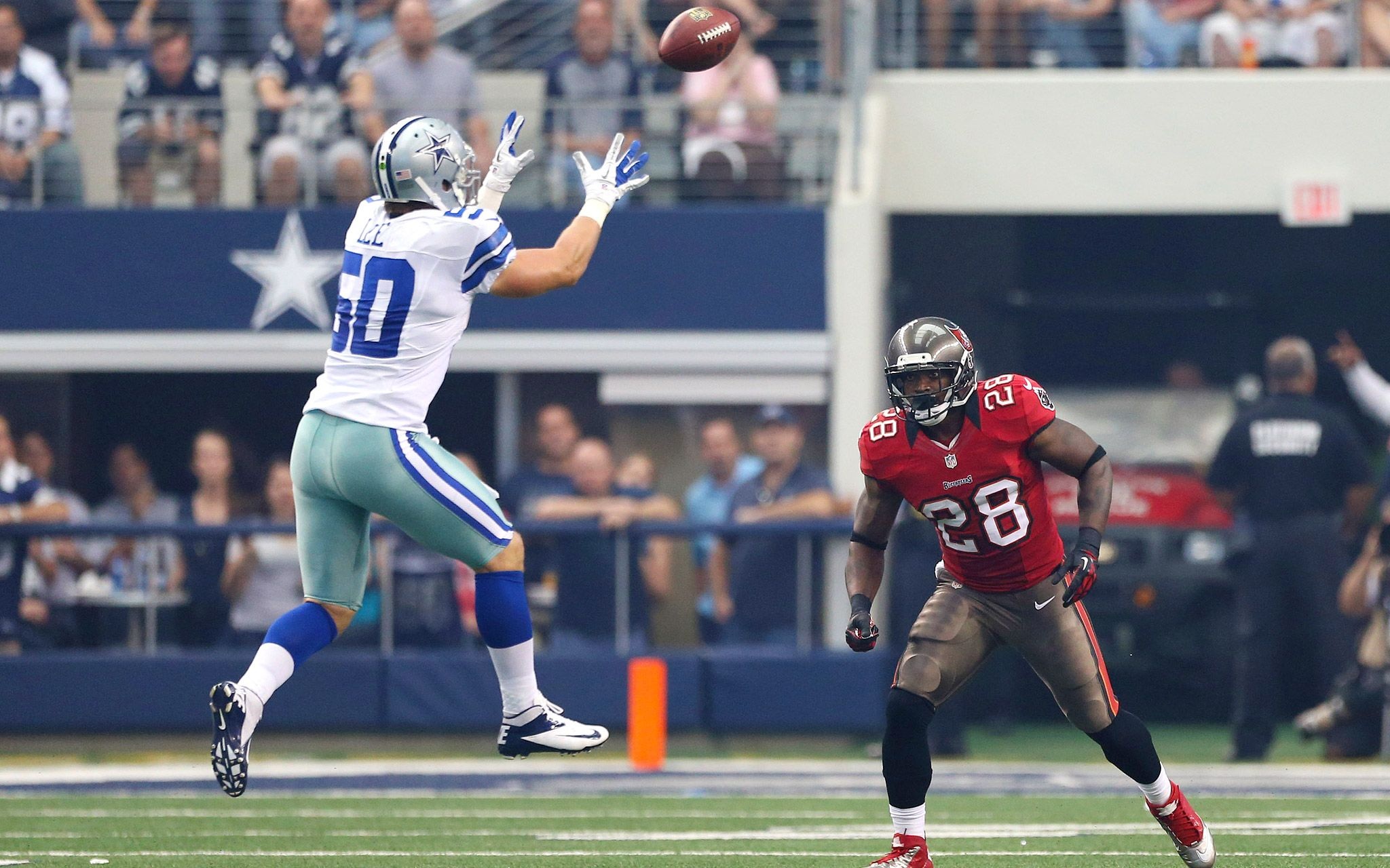 Pure happiness, Cowboys vs Bucs! Hubby & i were at this