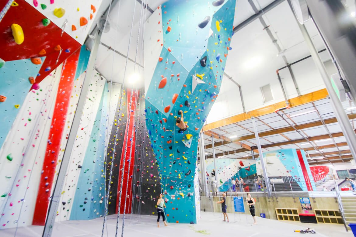 Cliffs Of Id Rock Climbing Gym In Culver City Los Angeles Southern California Beta Together