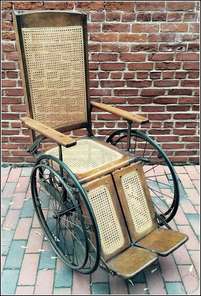 1930 S Vintage Antique Wheelchair Model 611 N By Gendron