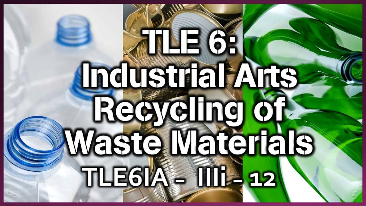 Tle 6 I A Recycling Waste Materials In 2020 Volvic Bottle