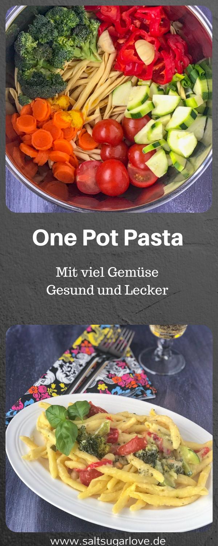 One Pot Pasta Einfach, schnell und Lecker Hier mein Rezept für euch #easyonepotmeals