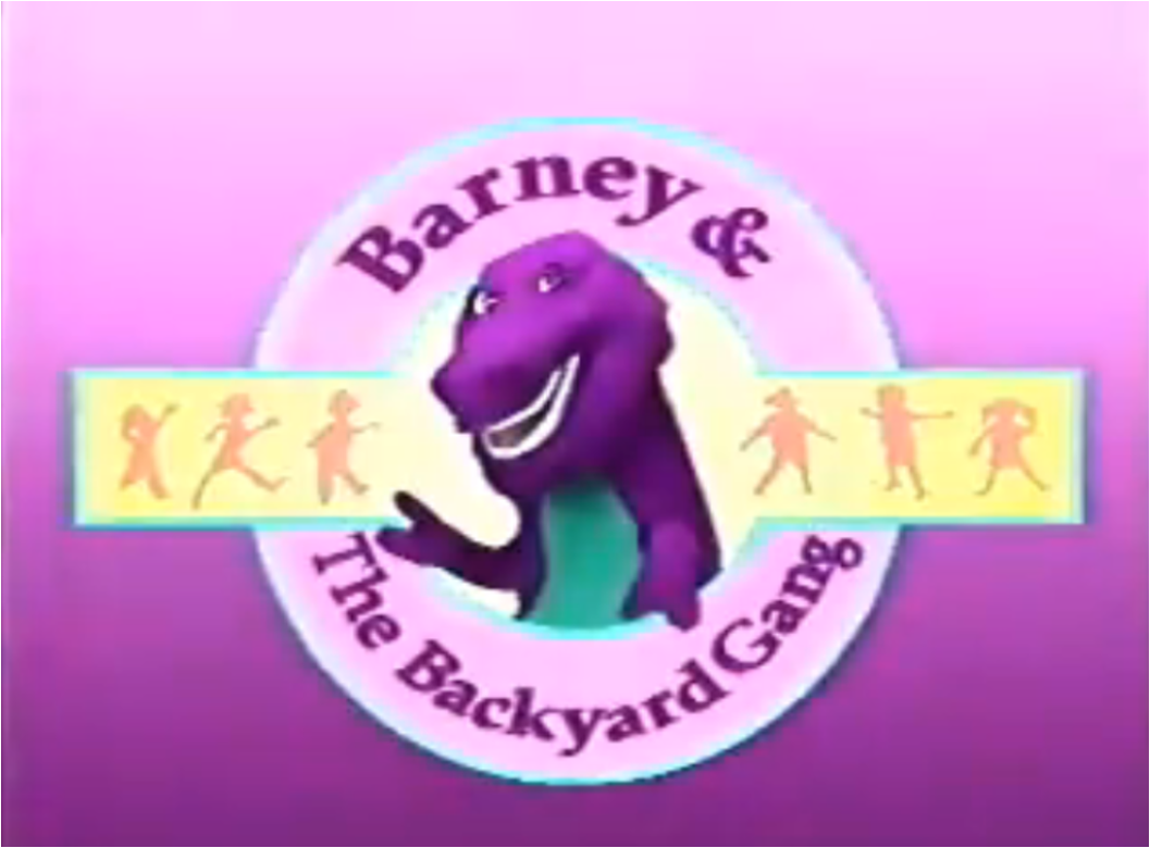barney the dinosaur gets people dancing the winkster