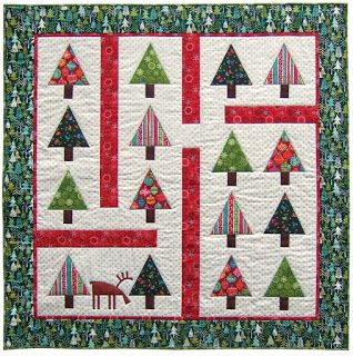 Quilt Inspiration: Free pattern day: Christmas quilts (part 1 ... : christmas quilting patterns free - Adamdwight.com