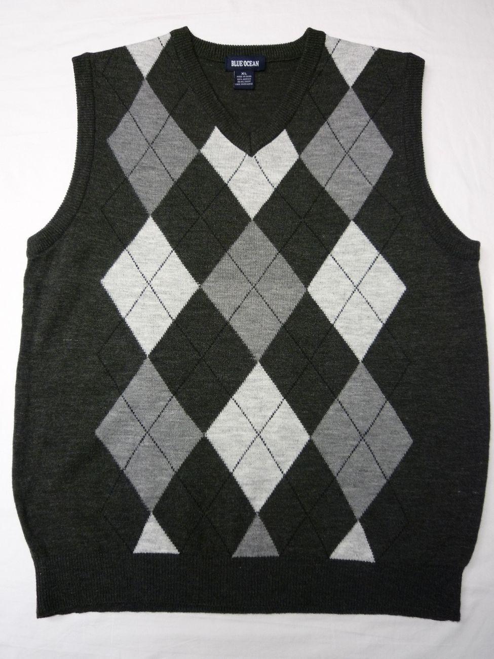 Argyle Sweater Vest : Charcoal Gray | My Style - Classy ...