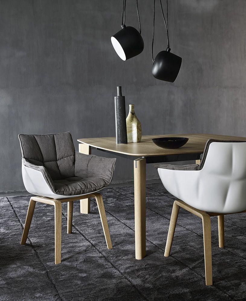 Sedia Husk Collezione Bb Italia Design Patricia Urquiola