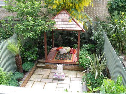 Outdoorküche Garten Yoga : Balinese garden one side yard ideas pinterest