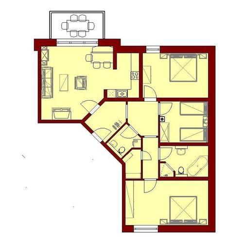Картинки по запросу grundrisse bungalow 140 qm (с