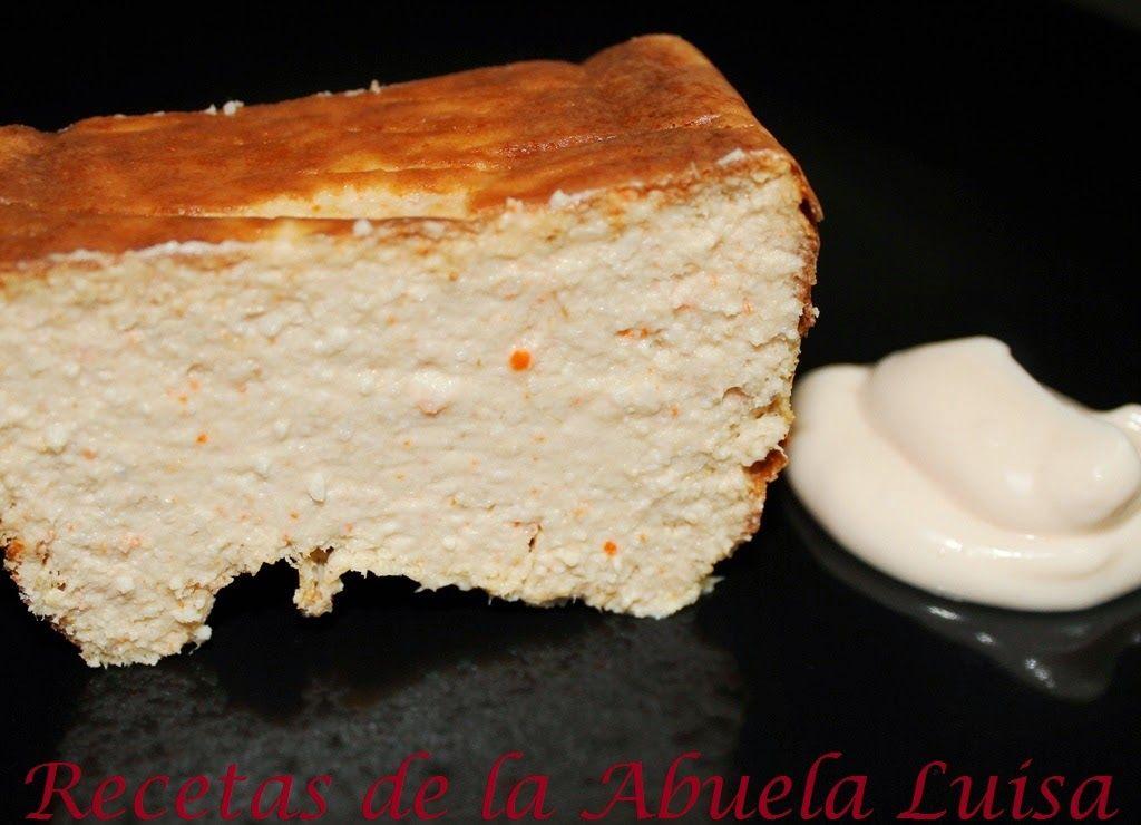 Pastel de palitos de cangrejo y at n recetas de la for Cocina casera de la abuela