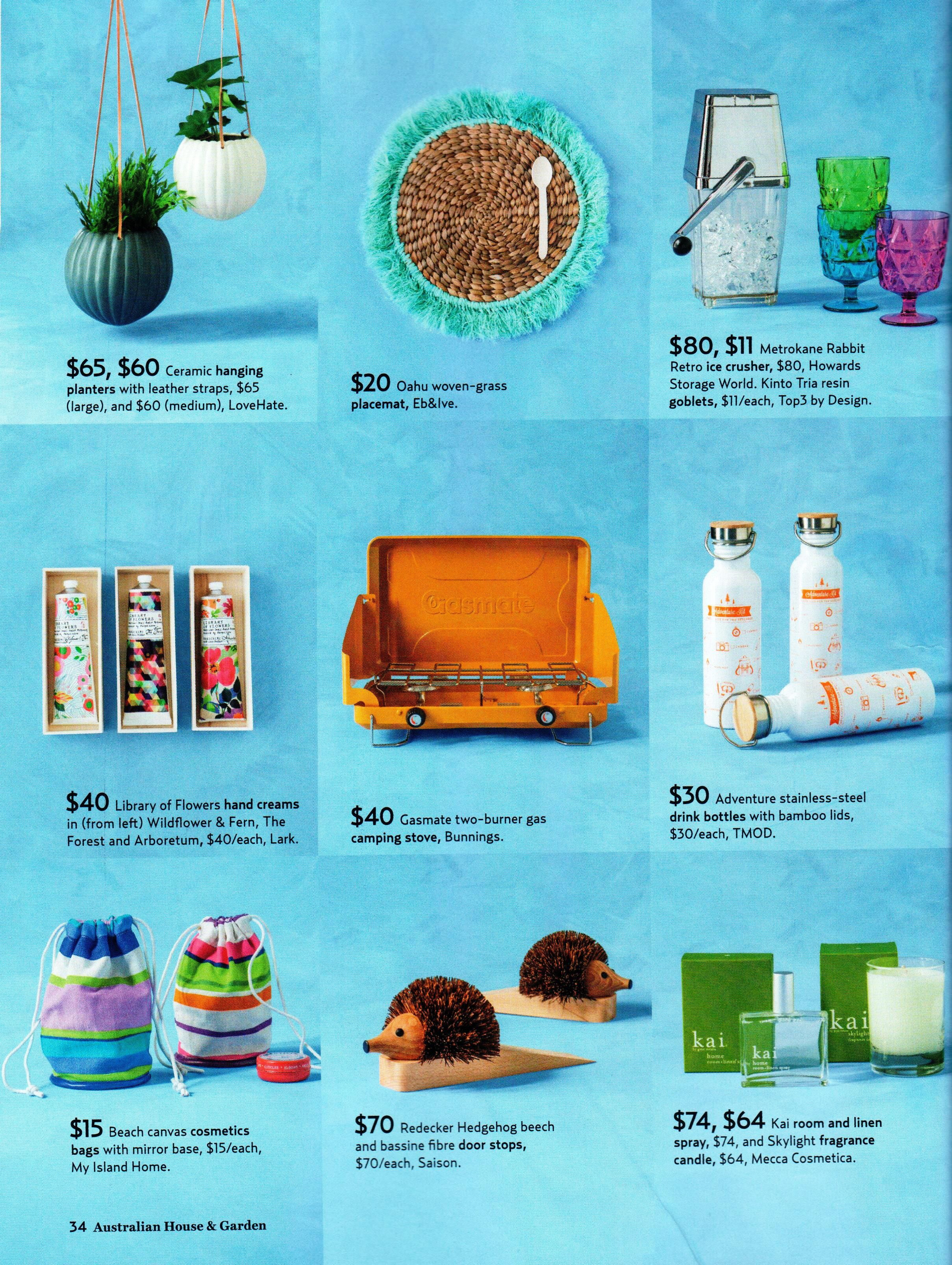 House & Garden - eb&ive Oahu woven - grass placemat