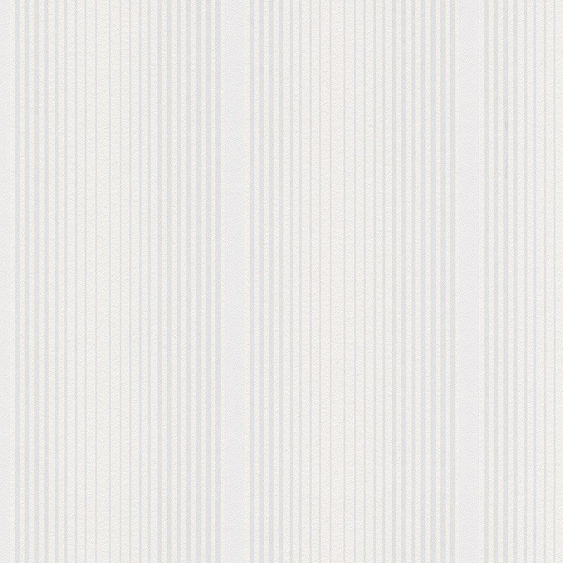 burke decor.com - Modern Stripes Wallpaper in White design by BD Wall