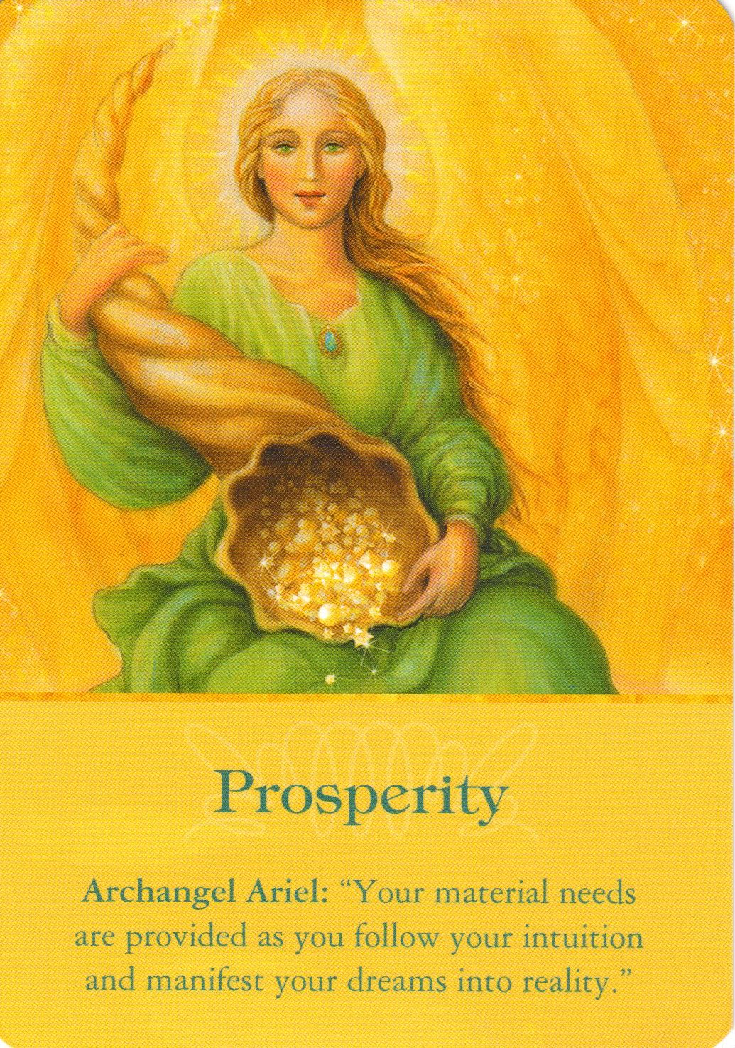 Archangel ariel archangel oracle cards archangels
