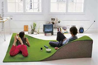 Very creative product for people to relax and lay down on