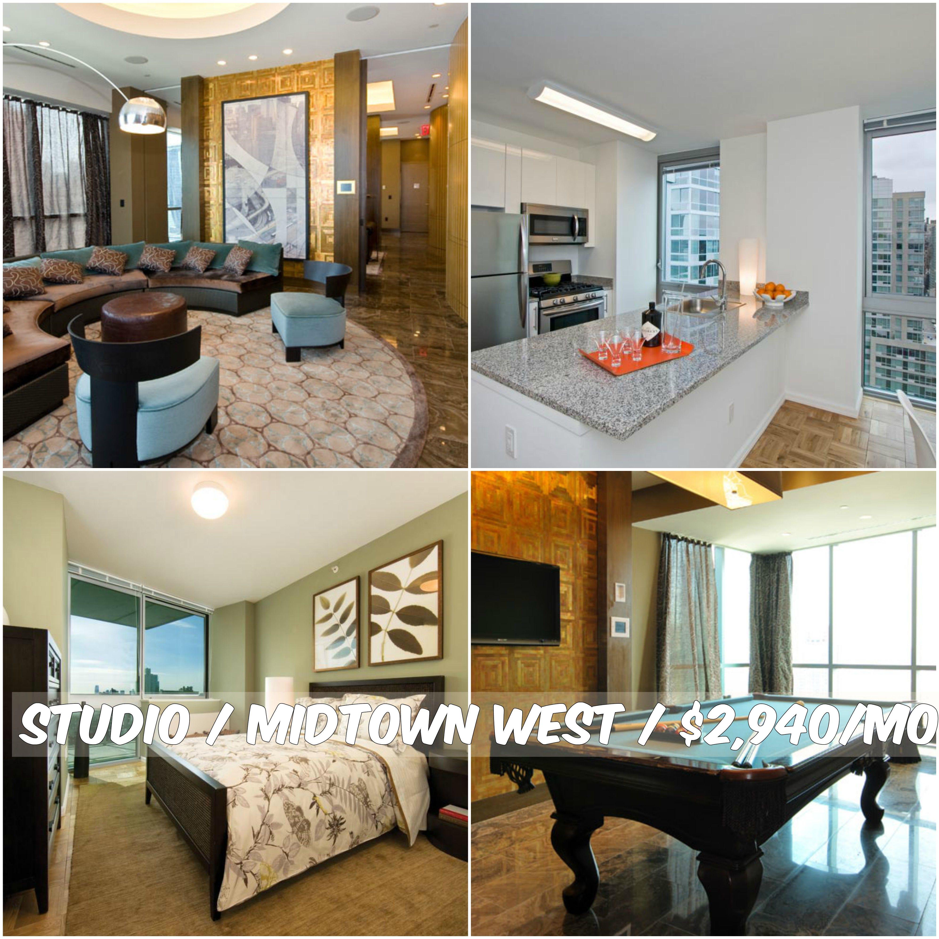 Studio Apt For Rent In Midtown West At $2,940/mo.Doorman