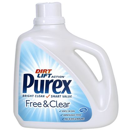 Free And Clear Laundry Detergent For Sensitive Skin Purex