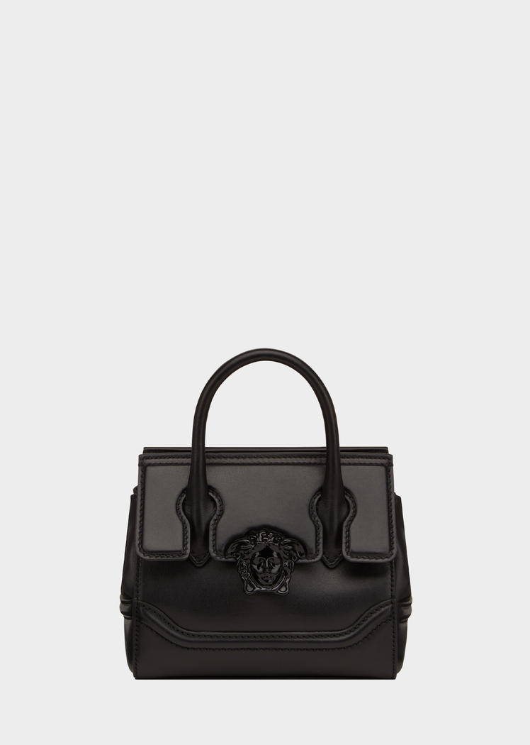 d63a60c8aed4 Palazzo Empire Shoulder Bag from Versace Women's Collection. Palazzo Empire  bag crafted in calf leather, with central tonal Medusa Head plaque, ...