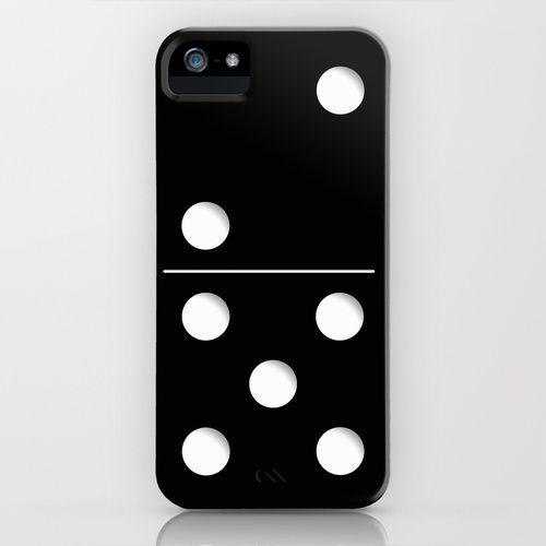 Domino iPhone Case by Nicklas Gustafsson | Society6