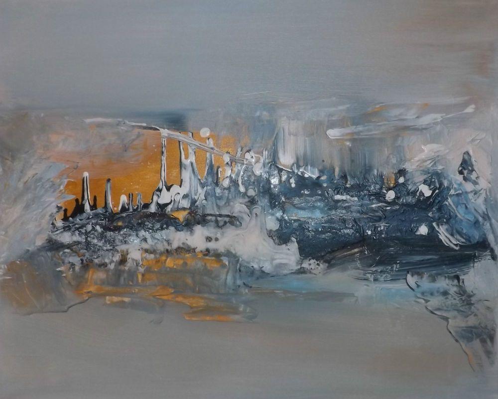 Tableau abstrait contemporain moderne acrylique en relief tableaux abstraits modernes - Tableau abstrait contemporain ...