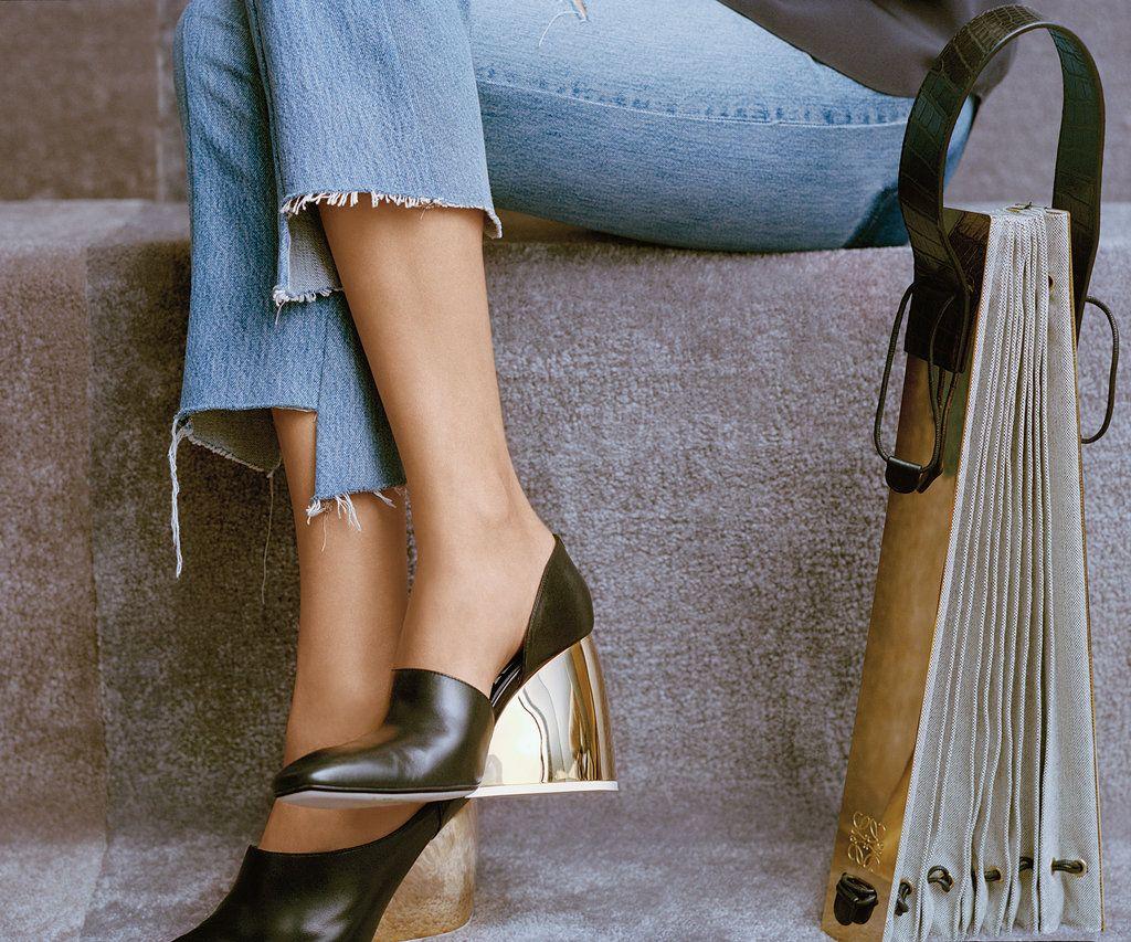 Loewe shoes and bag - 2015