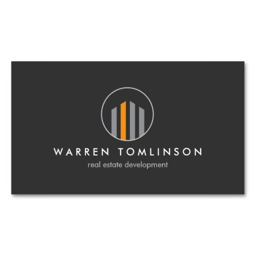Professional Modern Real Estate Building Logo and Business Card Template for Real Estate Developers, Realtors, Architects, Builders, Property Managers and more