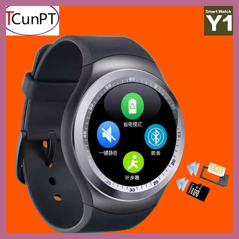 New Fashion Y1 Smart Watch Support SIM Card and TF Card