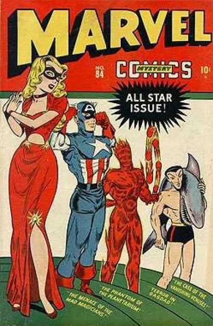 Golden Age Marvel Comics
