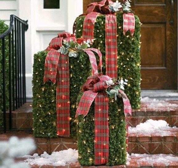 Decorazioni Natalizie Da Esterno.Decorazioni Natalizie Per Esterno Christmass Natale Idee Per L