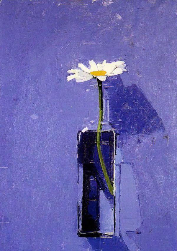 Euan Uglow Malerei Blumen Pinterest Daisies Pintura