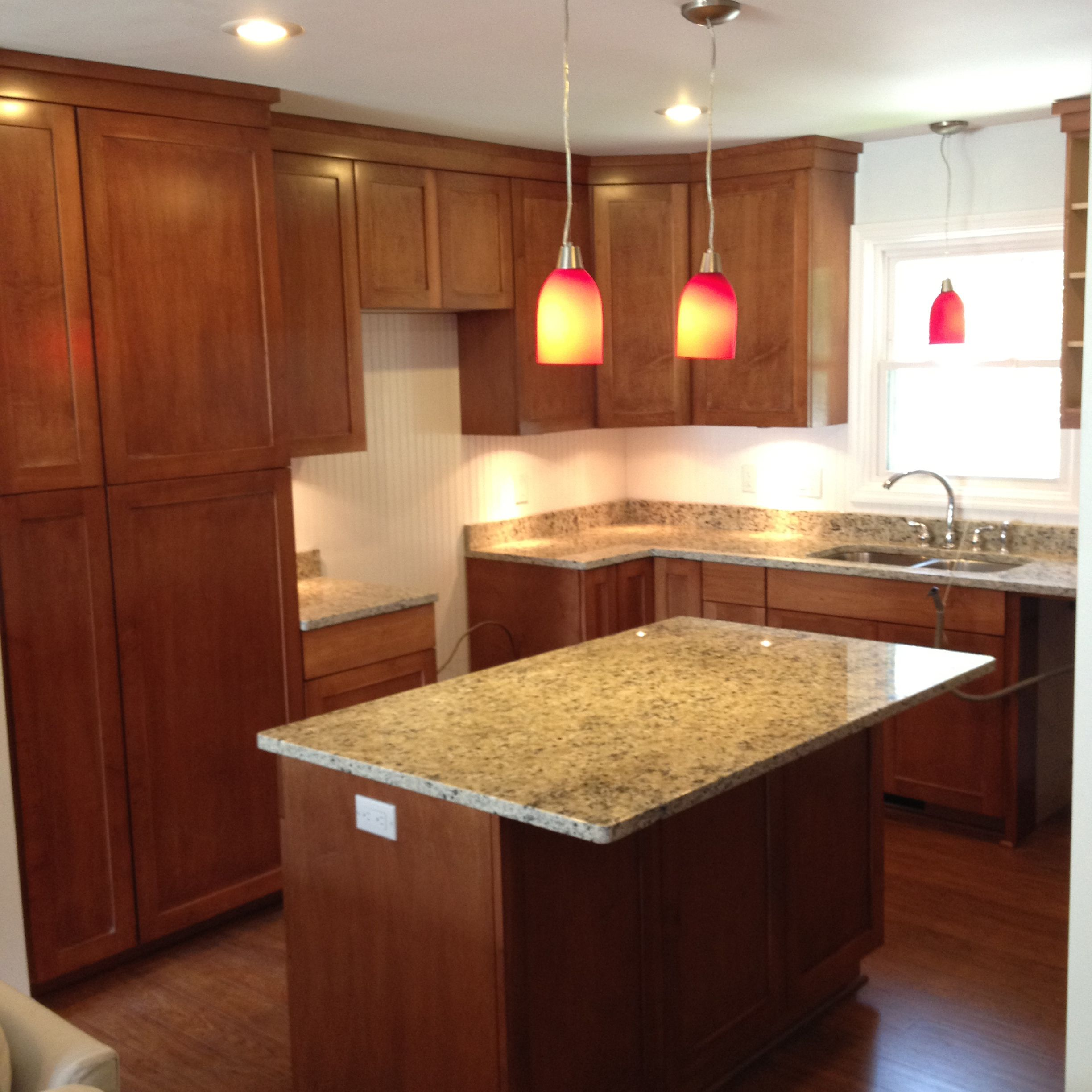 Great Looking Kitchens check out this custom-designed kitchen islandwoods cabinets