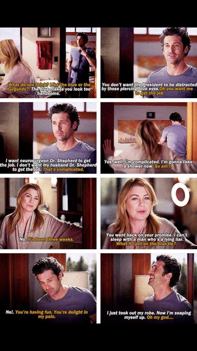 Meredith and Derek | Grey\'s Anatomy | Pinterest | Gris, Anatomía y ...