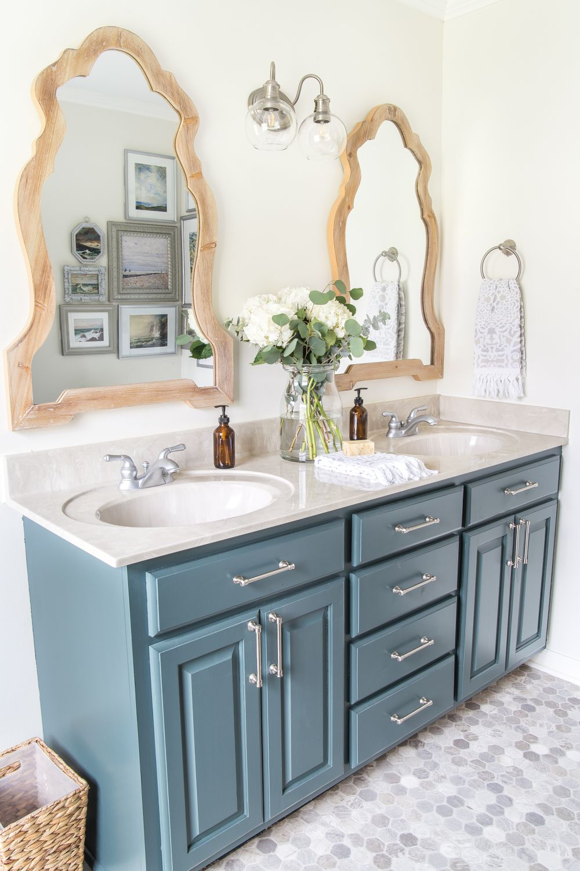 Budget Master Bathroom Refresh Reveal Bless Er House Master Bathroom Refresh Bathroom Refresh Master Bathroom