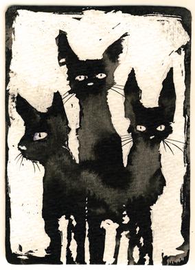 Ink Cat 3 , Myrntai