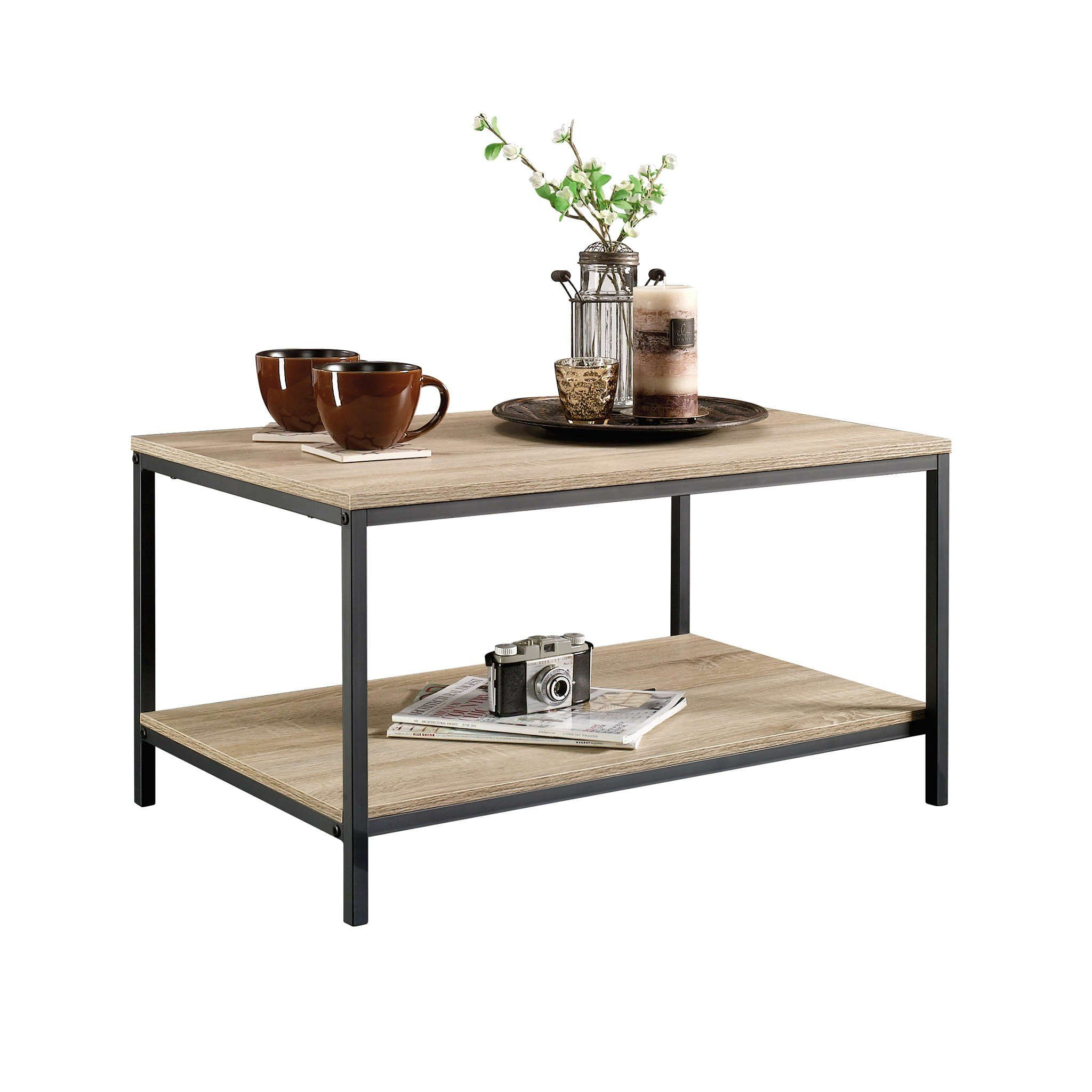 Sauder 420275 Coffee Table Furniture Characters Oak Click Image To Review More Details Thi Coffee Table Furniture Cool Coffee Tables Coffee Table Rectangle [ 2048 x 2048 Pixel ]