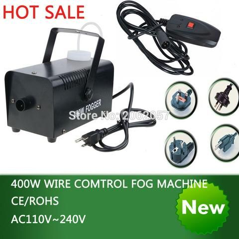 Colorful Mini Wire Control Fog/Smoke Machine Pump Party ...