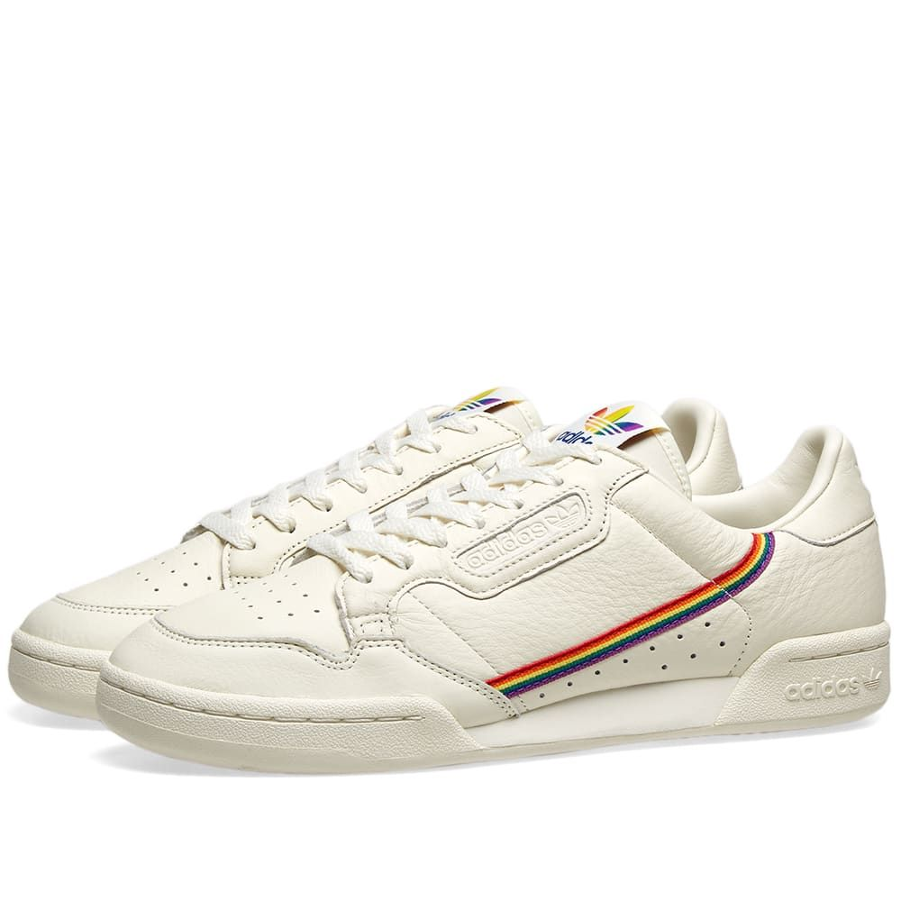 Adidas Continental 80 Pride in 2020 | Casual sneakers ...