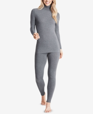 Cuddle Duds Womens Softwear with Stretch Long Sleeve Turtle Neck Top