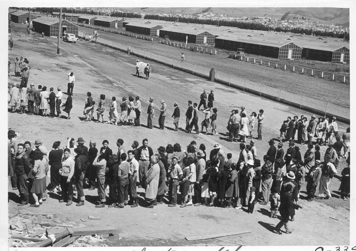#Japanese Internment Camps - San Bruno California - April 1942 [1400 x 990] #history #retro #vintage #dh #HistoryPorn http://ift.tt/2gvhMvT