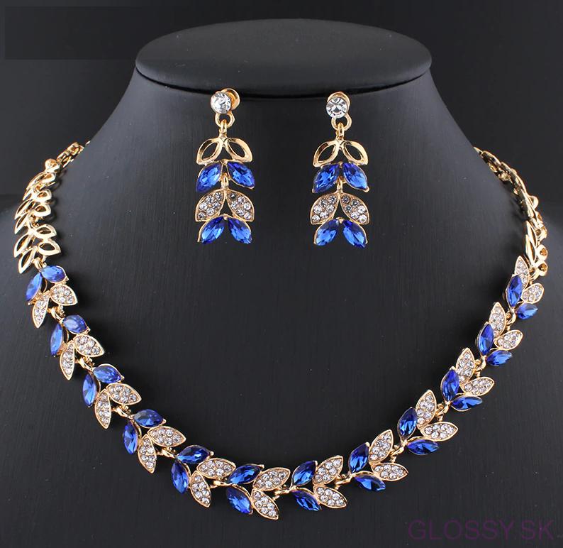 5ba6c5639dac Dvojdielny set šperkov Glamorous je skvelým doplnkom na svadbu