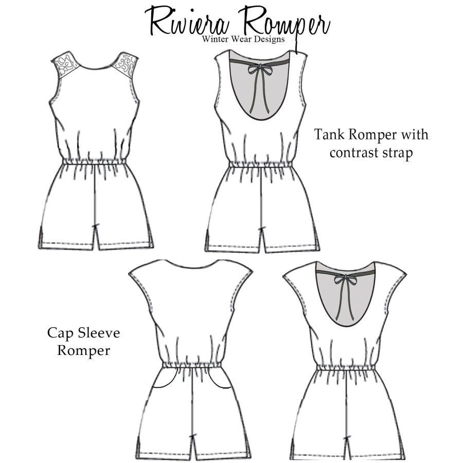 24+ Beautiful Image of Romper Sewing Pattern Romper Sewing