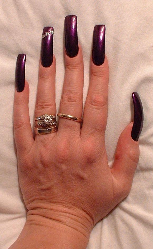 Perfection Pj S Nails Long Nails Curved Nails Long Acrylic Nails