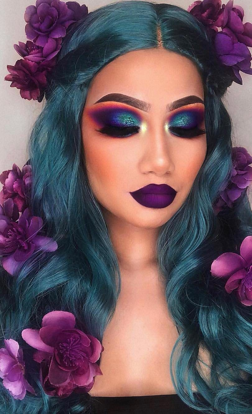 35+ Fun Colorful Eyeshadow Ideas For Makeup Lovers , Page 4