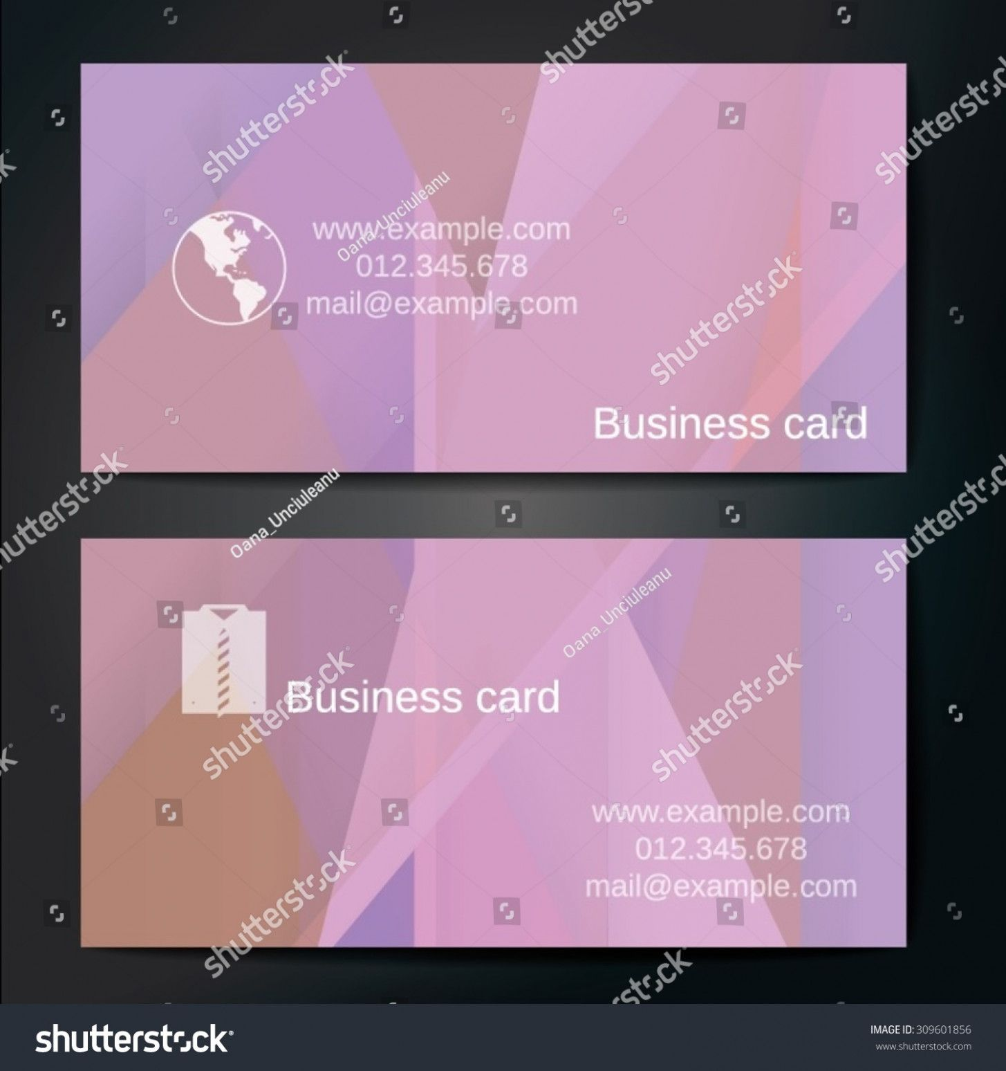 What Is The Size Of A Business Card In Cards Business Business
