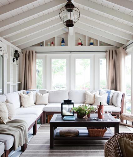Style Stalking Philip Mitchell Design Sunroom Designs Home