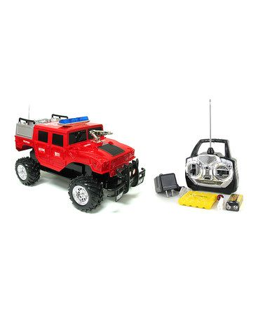 This Rescue Hummer H1 Remote Control Car Is Perfect