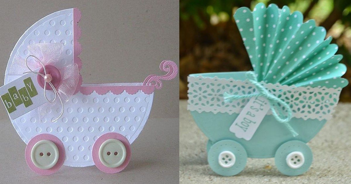 Cochecito CON BEBE PARA BABY SHOWER | Diy baby shower gifts