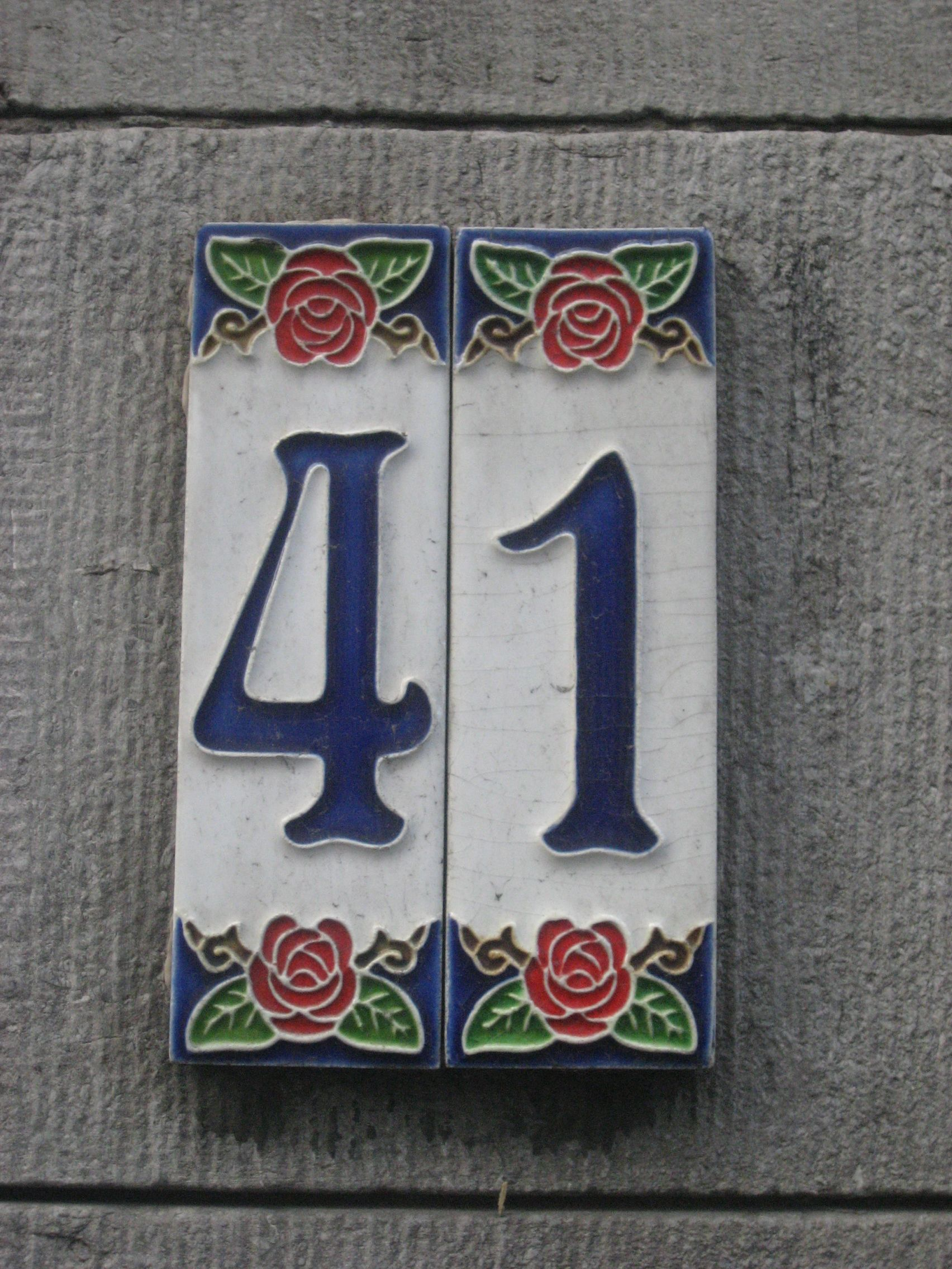 Art nouveau house numbering many mansions pinterest pottery